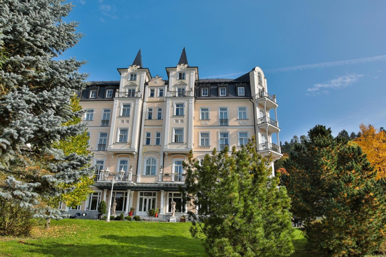 HOTEL SUN PALACE SPA & WELLNESS - ozdravný pobyt dýchací cesty 7 nocí - Mariánské Lázně