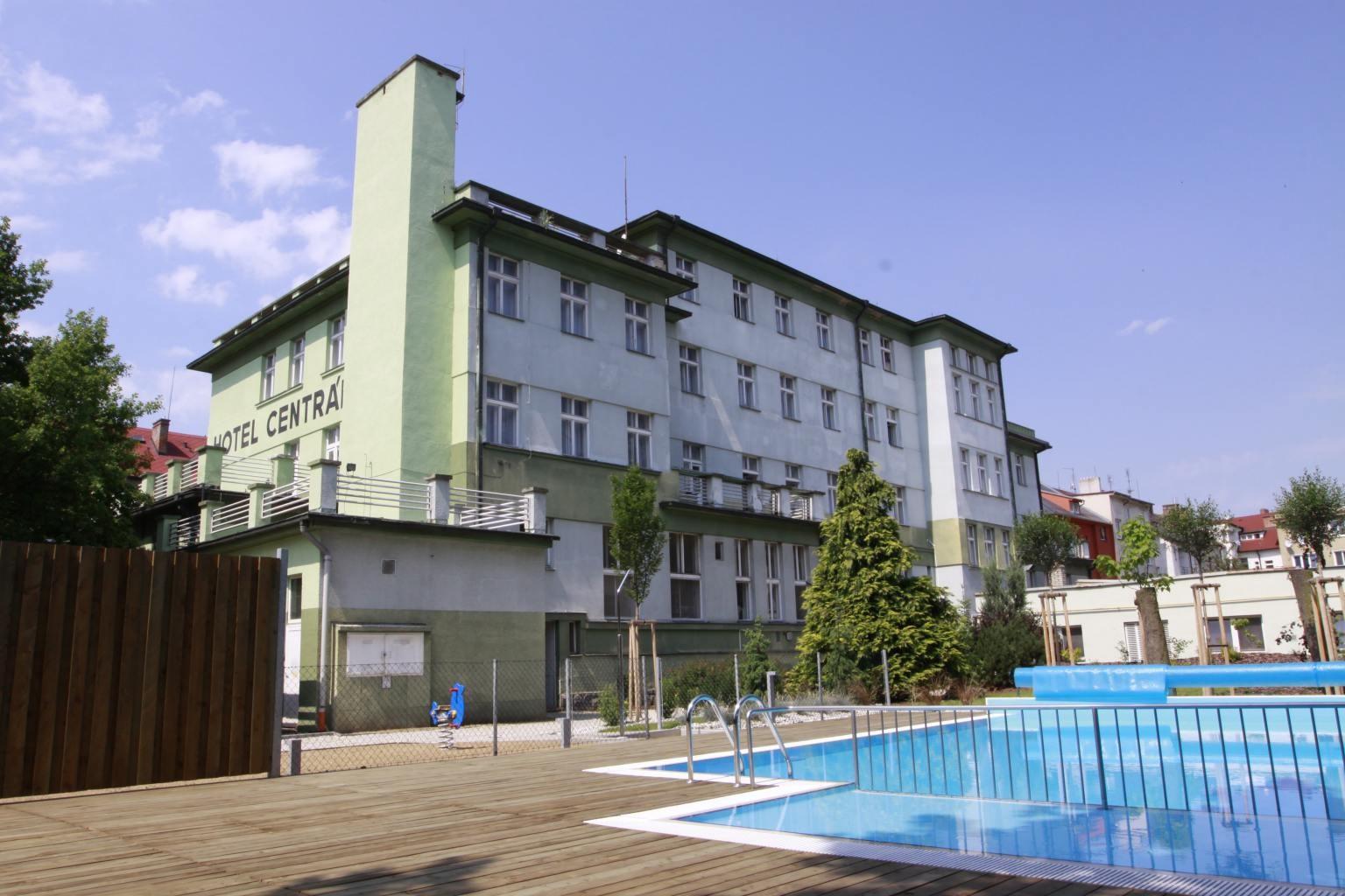 Wellness hotel CENTRÁL - rekreační pobyt pokoje standard